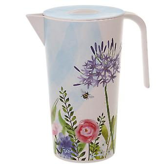 Bamboo Composite Botanical Gardens 1.7L Water Jug X 1 Pack