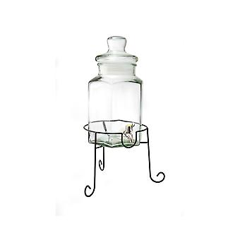 Eddingtons Vintage Design 5.5L Lemonade & Punch Jar with Stand