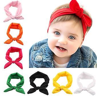 Cute Baby Kids Headband Bow For Girl Rabbit Ear Style