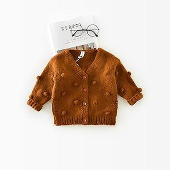 1-3 Years Old Baby Sweater- Child 17 Winter Ball In Hand Down Sweater / Jacket
