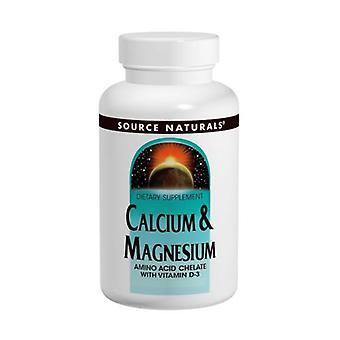 Source Naturals Calcium and Magnesium, 300 mg, 240 Tabs