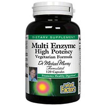 Luonnolliset tekijät Dr. Murray's Multi Enzyme Vegetarian Formula, 120 Vcaps
