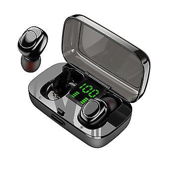 TWS Mini Portable bluetooth 5.0 Earphone Smart Touch Stereo Headphone