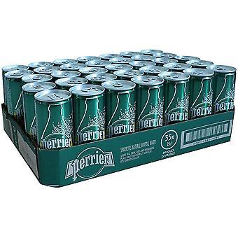 Perrier Natural Sparkling Mineral Water Slim Dose 250ml x 35