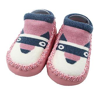 Cartoon Newborn Baby,,, Sosete Anti-alunecare, Copii Papuci, Pantofi, Cizme, Soft Sole