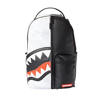 Sprayground Damage Control Backpack - Black / White