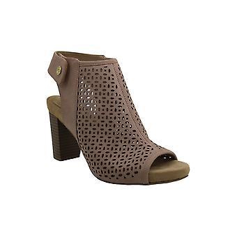 Giani Bernini Womens joiseyy Fabric Peep Toe Casual Mule Sandals