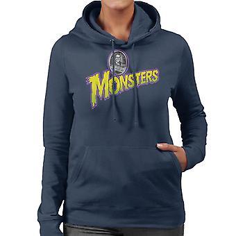 Universal Studios Monsters Home Of The Original Women's Hooded Sweatshirt