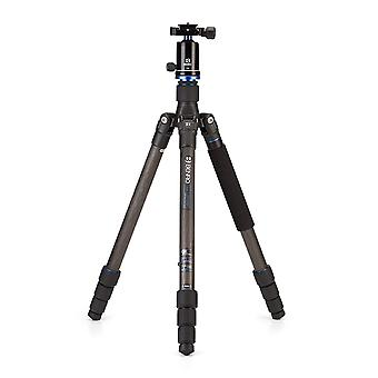 Benro travel angel 2 series carbon fiber tripod w/ v1e ball head (fta28cv1)