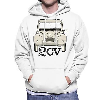 Citro?n 2CV For Light Men's Hooded Sweatshirt
