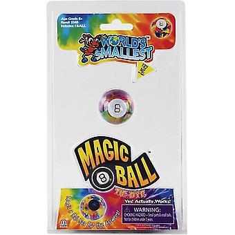 Worlds Smallest Magic 8 Ball Tie Dye USA import