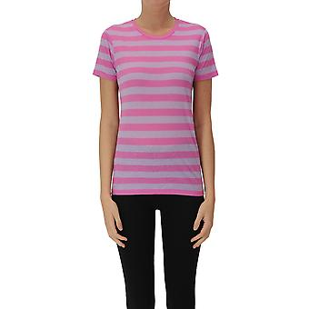 Eleanor California Ezgl582001 Women's Grey/pink Cotton T-shirt