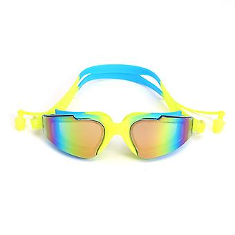 Lunettes de natation professionnelles Silicone Anti-brouillard Uv Lunettes de natation avec