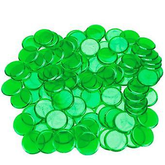 100パックグリーンビンゴチップ