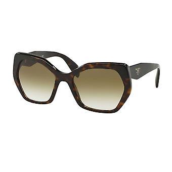Prada 0pr16rs 2au4m0 56 Heritage Havana Brown Ladies Sunglasses