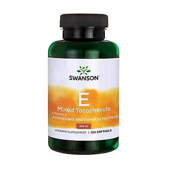 Vitamin E Mixed Tocopherols 400 IU 250 softgels of 268mg