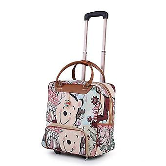 Trolley Luggage Rolling/casual Stripes Rolling Case Travel Bag/on Wheels Carry