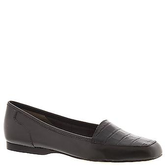 ARRAY Women's Shoes Freedom Leather Square Toe Loafers