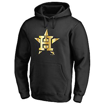 Houston Astros Gold Collection Pullover Hoodie Swearshirt Toppar 3WY066
