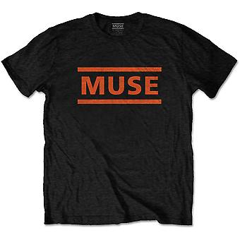 Muse Orange Logo Official Tee T-Shirt Unisex