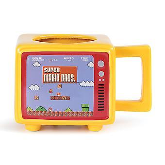 Super Mario como un jefe de cambio de calor taza