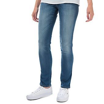 Women's Armani J18 Slim Fit Jeans in Blue