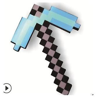 Minecraft Design Blue Diamond Sword, Soft Foam Lovely For Birthday
