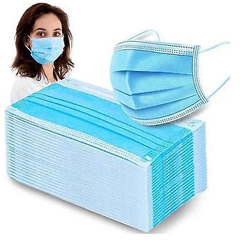 350 stk. - CE-godkendte mundbeskyttere - Ansigtsmasker 3-Lagers