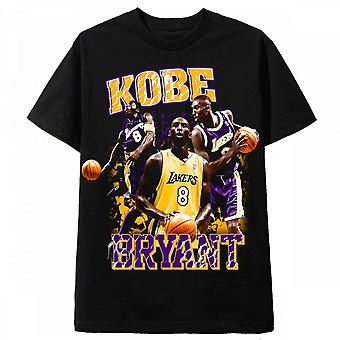 Vintage Tee Retro 90S T Shirt Kobe Bryant Lakers