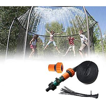 Trampoline Sprinkler Outdoor Kids Water Summer Water Fun