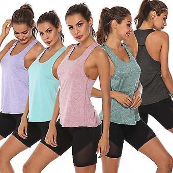 Frauen-athletische Fitness Sport Tank Tops Gym Lauftraining/Yoga-Shirts
