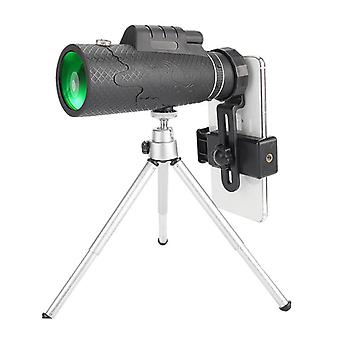 IPRee 40X60 אופטי HD עדשה מונוקולרית FMC BAK4 טלסקופ עמיד למים נייד ראיית לילה חיצונית Ca