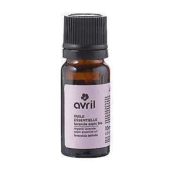 Organic Lavender aspic essential oil 10 ml of essential oil