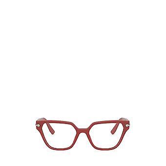 Miu Miu MU 02TV dark pink / crystal female eyeglasses