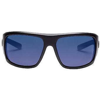 Electric California Mahi Aurinkolasit - Matta musta/Polarisoitu sininen