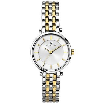 Accurist 8007 London Gold & Silver Stainless Steel Ladies Watch