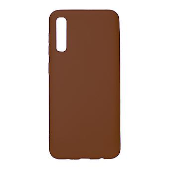 Ultra-Slim Case compatible with Samsung Galaxy A50 | In Brown |