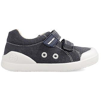 Biomecanics Boys 202225-A Canvas Shoes Navy Blue