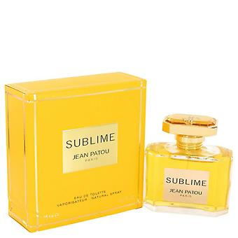 Sublime Eau De Toilette Spray por Jean Patou 2.5 oz Eau De Toilette Spray