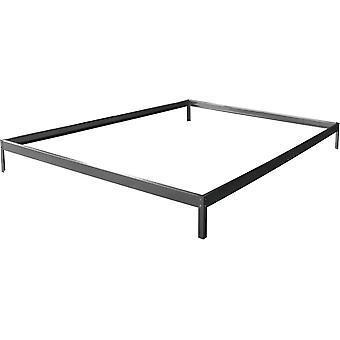 """Base para invernadero en policarbonato """"Hortensia 4,8m²"""" color Zinc"""