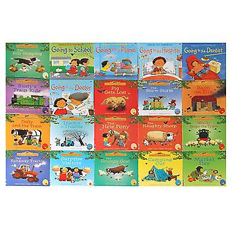 Englanti Usborne Books For, Lapsille, Kuva Vauva Kuuluisa Tarina Farmyard Tales