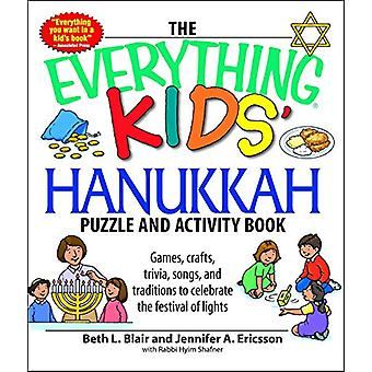 The Everything Kids' Hanukkah Puzzle & Activity Book - Games - cra