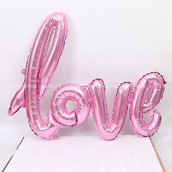 Rakkauskirje folio ilmapallo vuosipäiväksi / häät / ystävänpäivät / syntymäpäivä