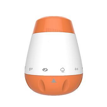 Sonido de suspensión recargable de la máquina de ruido (naranja)
