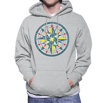 Pan Am Only Flying Clippers Men's Hooded Sweatshirt