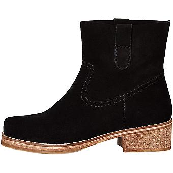 find. Women's Pull On Leather Boots Cowboy, Black, US 6