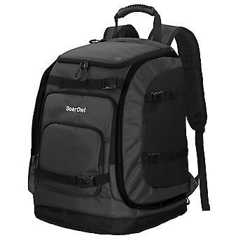 Soarowl 50l Ski Backpack Large Capacity Waterproof Ski Boot Bag Can Be Loaded