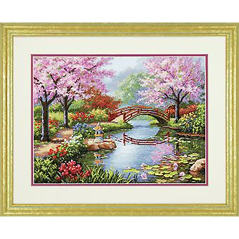 Dimensions Gold: Counted Cross Stitch: Japanese Garden