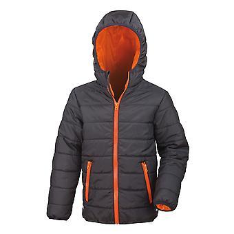 Utendørs utseende barn kjerne myk varm polstret jakke