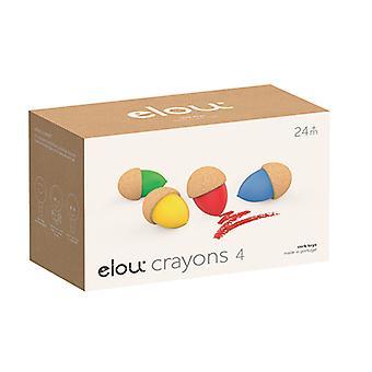 Elou Crayons 4 Pack
